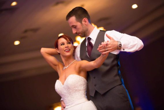Trish and Kens wedding dance Photo