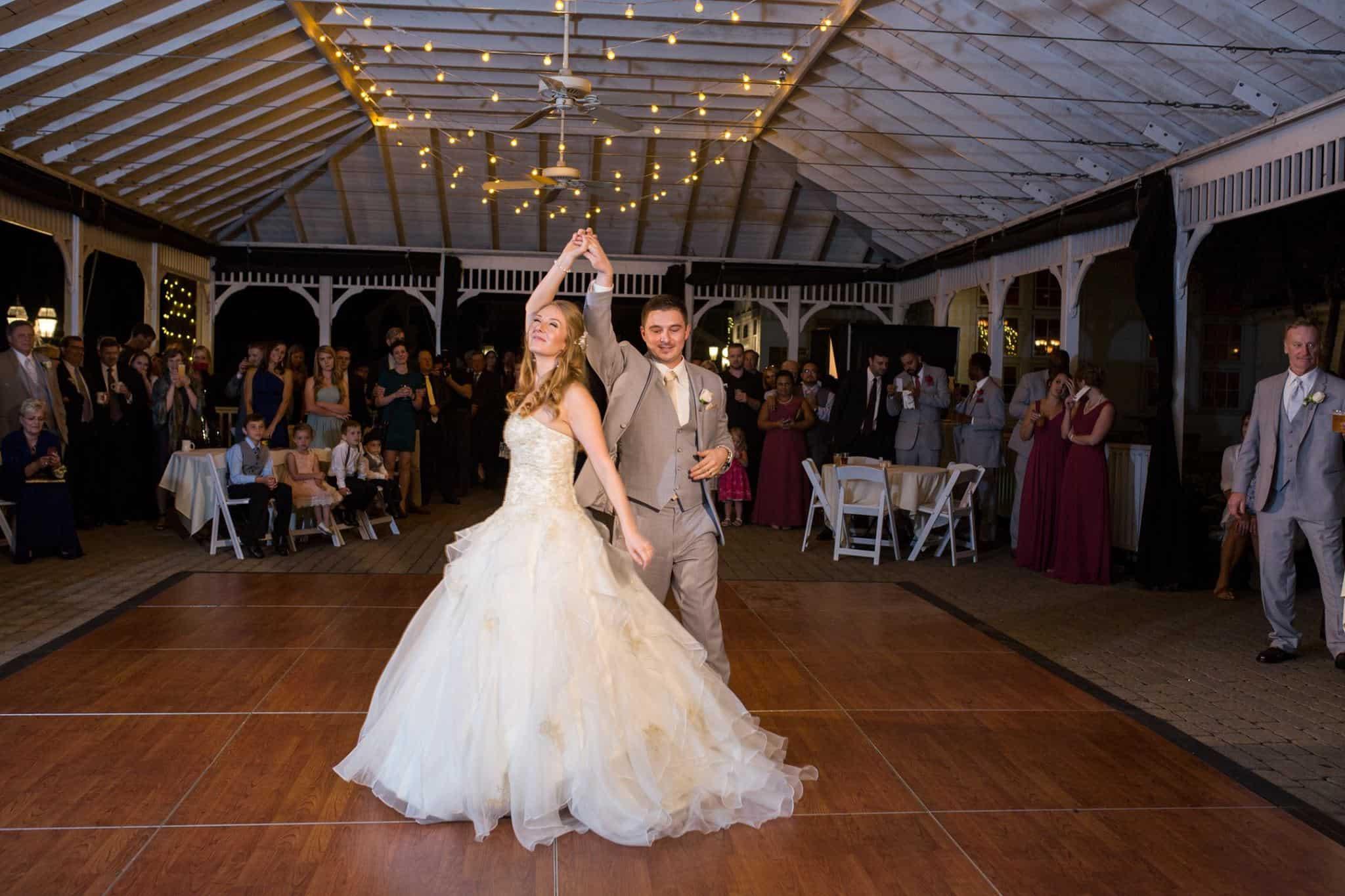 Young Couples Wedding Dance Photo