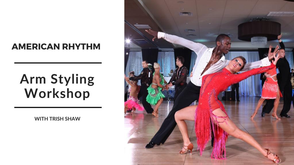 American Rhythm Are Styling Workshop Just Danze