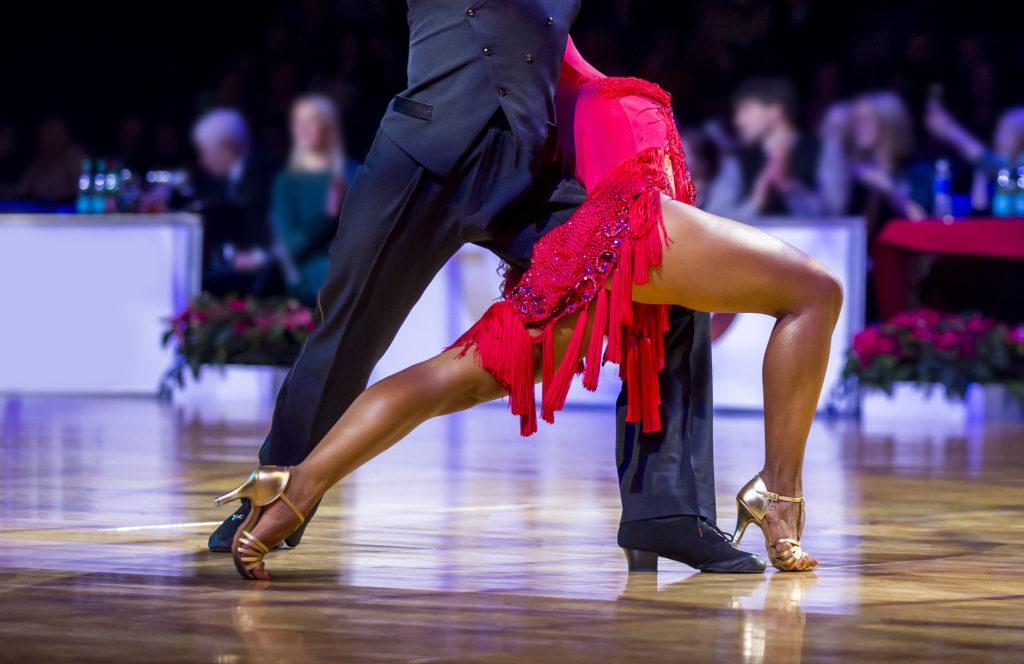 Ballroom dance - footwork